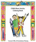 Child Abuse Activity Coloring Book
